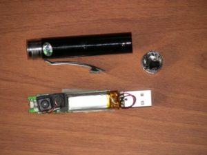 Ручка со встроенной видеокамерой